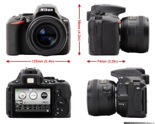 Medium Of Nikon D5500 Body Only