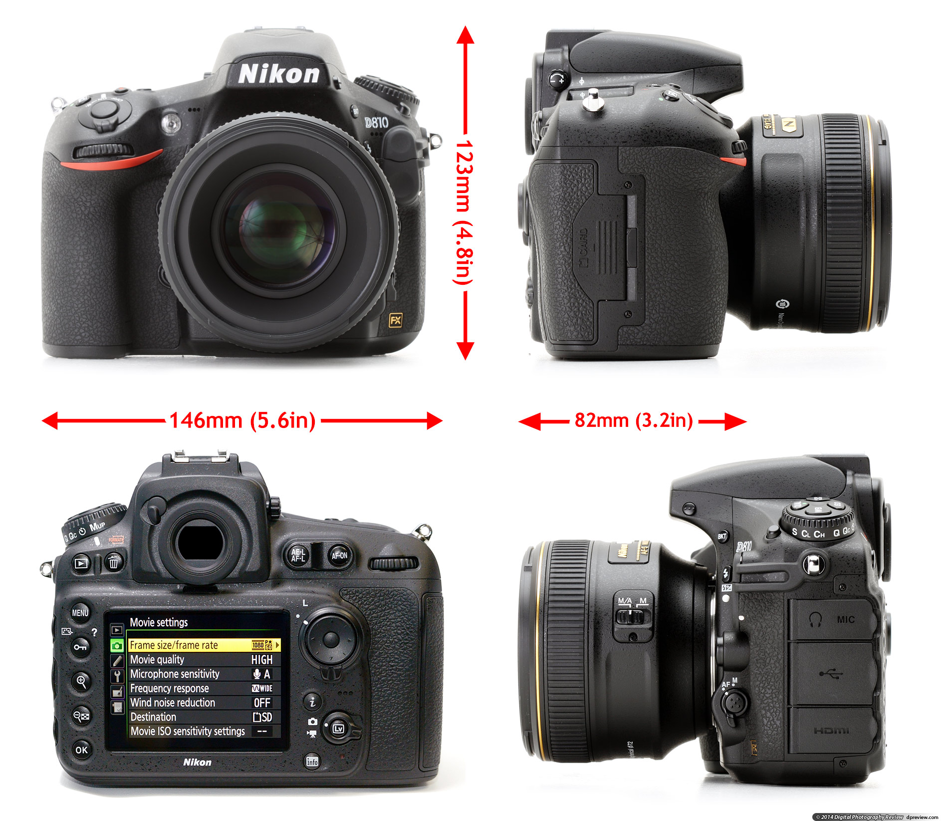 Sleek Is A Very Close Match To Its Predecessors Are Mselves Operationally Benchmark Nikon Digital Photography Review Nikon D800 Vs D810 Forum Nikon D800 Vs D810 Differences dpreview Nikon D800 Vs D810