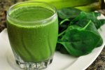 spinach smoothie recipe, spinach shake recipe