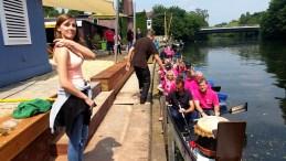 Drachenbootvermietung Telekom Regionalmeeting