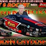 Racin' & Rockin' Radio: John Gaydosh on August 1st!