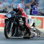 NHRA PRO BIKE BATTLE DURING TOYOTA NHRA SONOMA NATIONALS GIVES PRO STOCK MOTORCYCLE COMPETITORS ADDED INCENTIVE