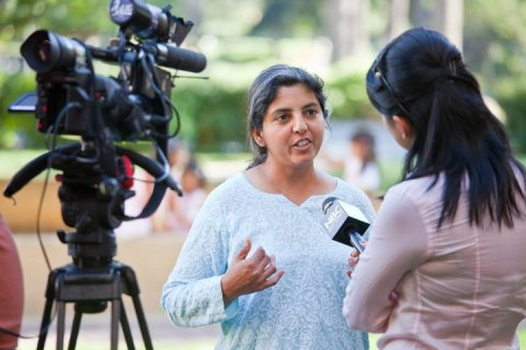 Sanjana Sahni speaks to NBC