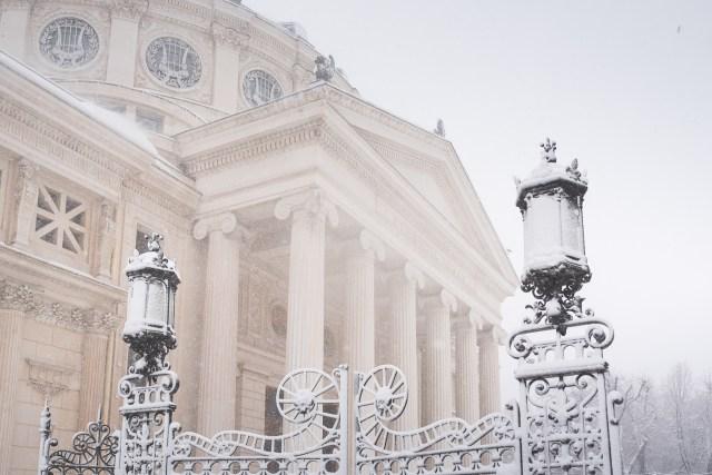 Iarna în București - Primele fotografii 9