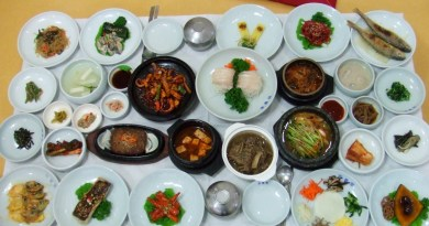 Korean set dinner
