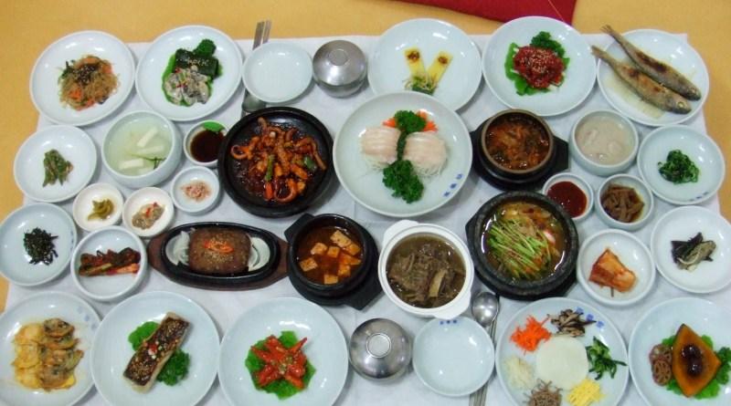 Korean set dinner