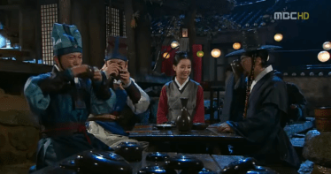 dong yi and King sukjong