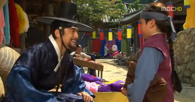 king sukjong meets his son