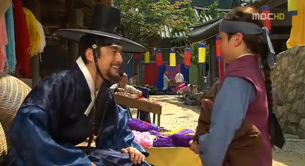 king sukjong meets his son