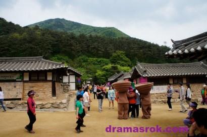 KBS drama set