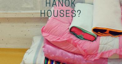 why are Korean hanok floors yellow?