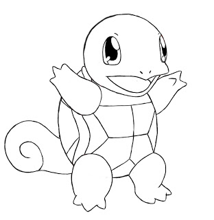 How to draw squirtle draw central - Squirtle pagine da colorare ...