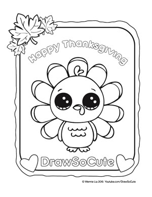 Great Coloring Pages. Draw So Cute