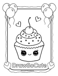 Coloring Pages | Draw So Cute