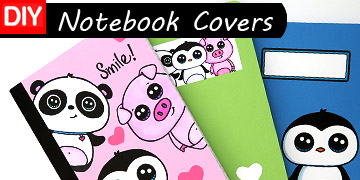 notebook covers craft