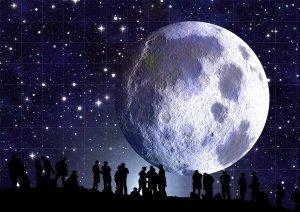 Big Moon at Night