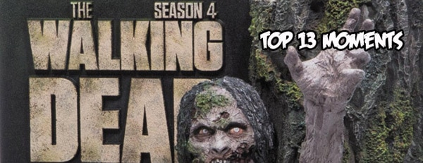 Top 13 Moments from The Walking Dead Season 4