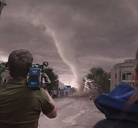 We Go Into the Storm for a Review