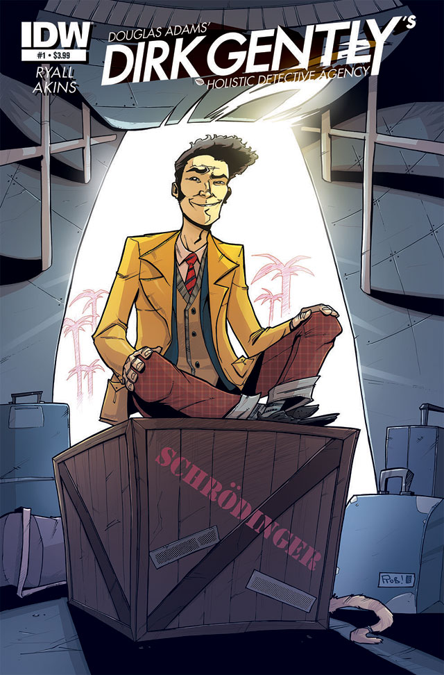 IDW Publishing To Bring Douglas Adams' Dirk Gently to Comics