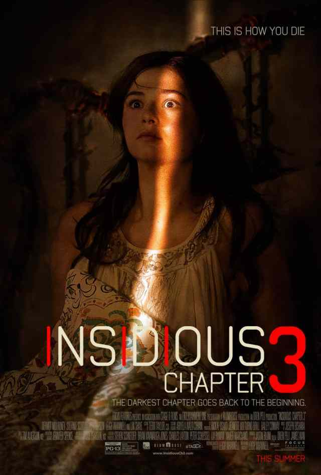 Insidious Chapter 3 poster - Vanessa Gomez Gets Insidious with Chapter 3