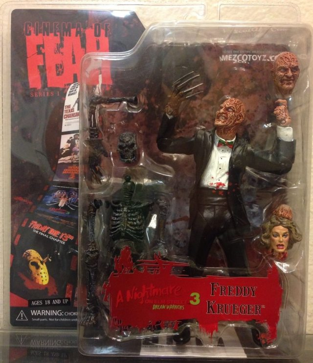Demon Freddy Toys : Top must own horror toys nightmare on elm street