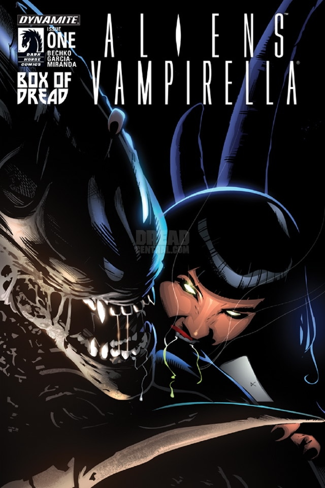 Exclusive Aliens/Vampirella Cover Joins Cannibals In September 2015 Box Of Dread