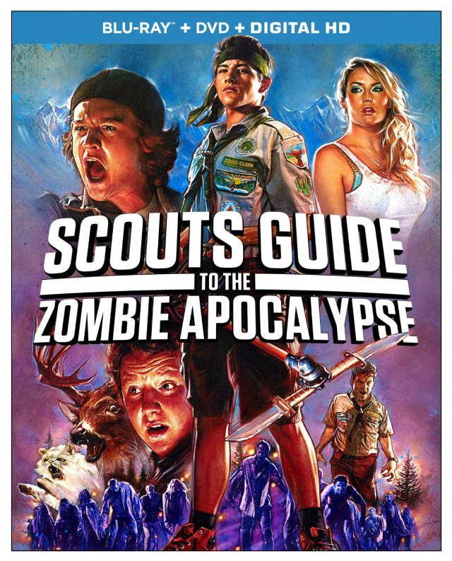 ... Screams with Tony Gardner for Scout's Guide to the Zombie Apocalypse