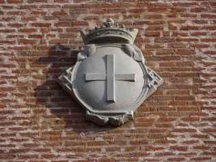 Convento de los Trinitarios Descalzos - Detalle de escudo