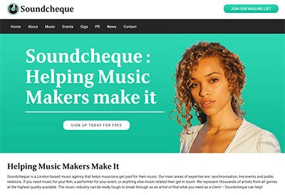 Soundcheque relaunch
