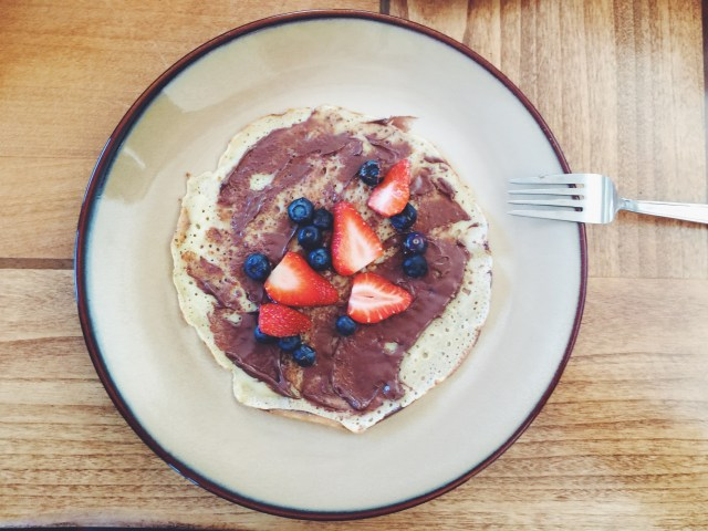 We also had great conversations over crepes. Hmm.. our coffee shop can have crepes, right? Any takers?