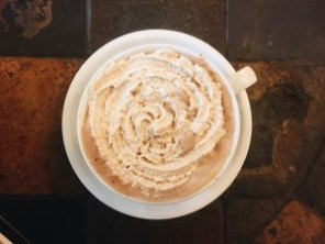 Espresso Whipped Cream exclusively at Battle Grounds, Washington.