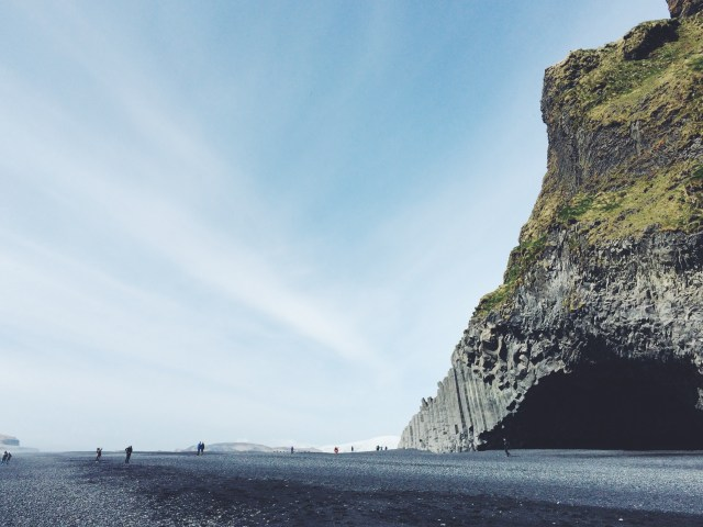 Black Sand Beach, South Shore Iceland