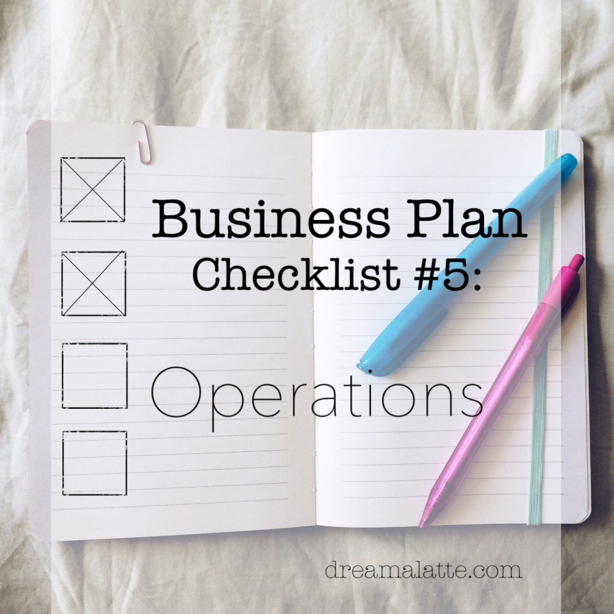 Coffee Shop Business Plan: Operations