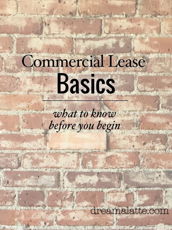 Commercial Lease Basics