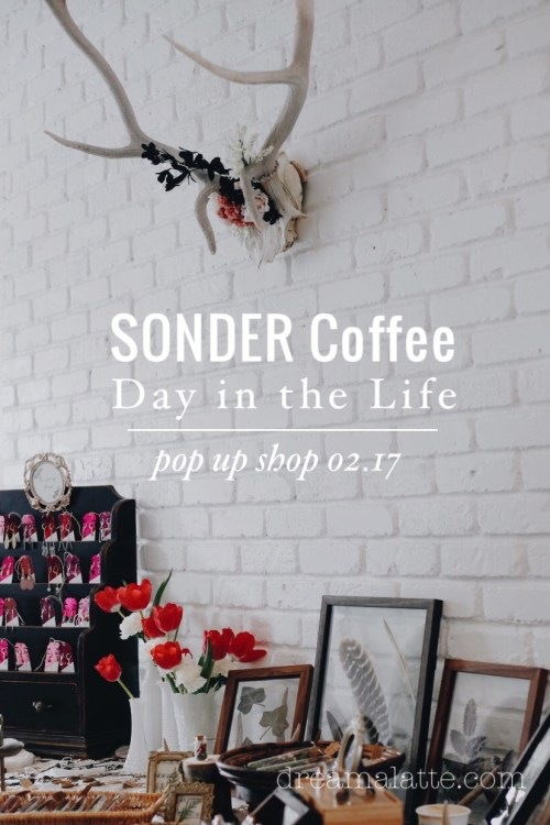 SONDER Coffee Pop Up Shop