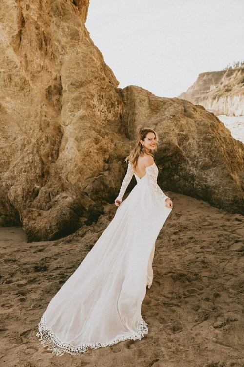 Medium Of Off Shoulder Wedding Dress