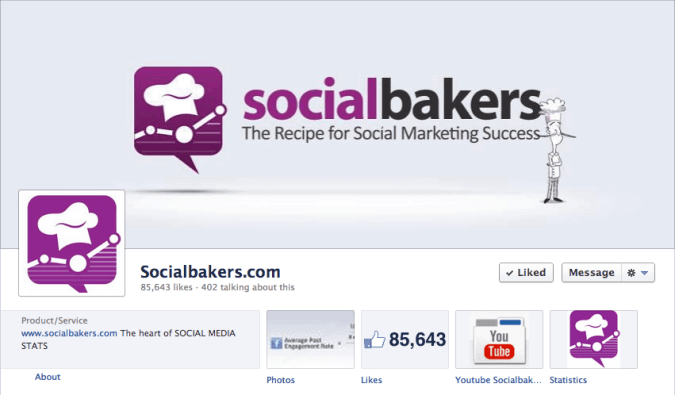 socialbakers socialbakers facebook cover photo