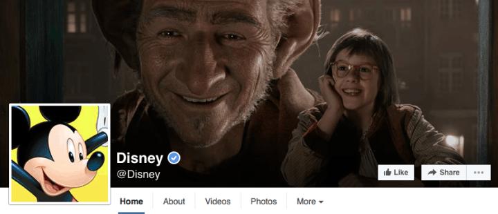 disney-facebook-design