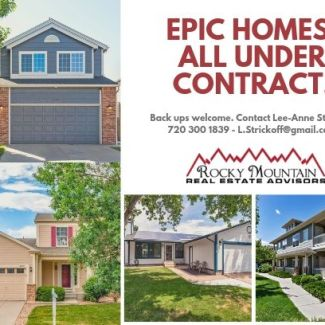 HOMES UNDER CONTRACT – May I sell yours?