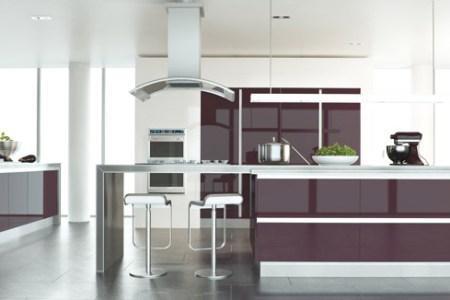 zurfiz kitchen ultragloss plum