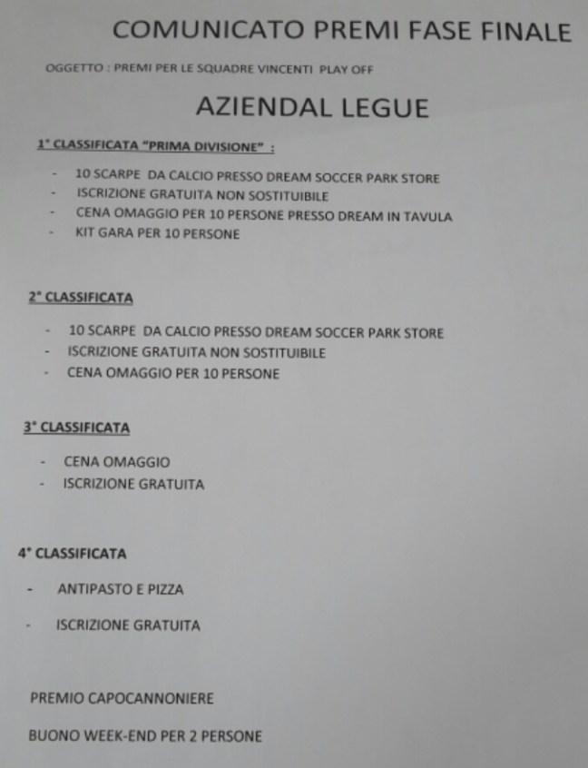 premi-prima-divisione-aziendal-league
