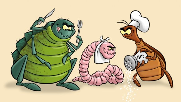 flea-worm-tick-cartoon