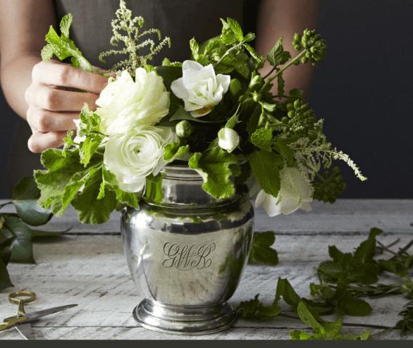 vase engraved match