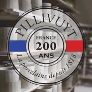 Pillivuyt Logo - 200 years w background