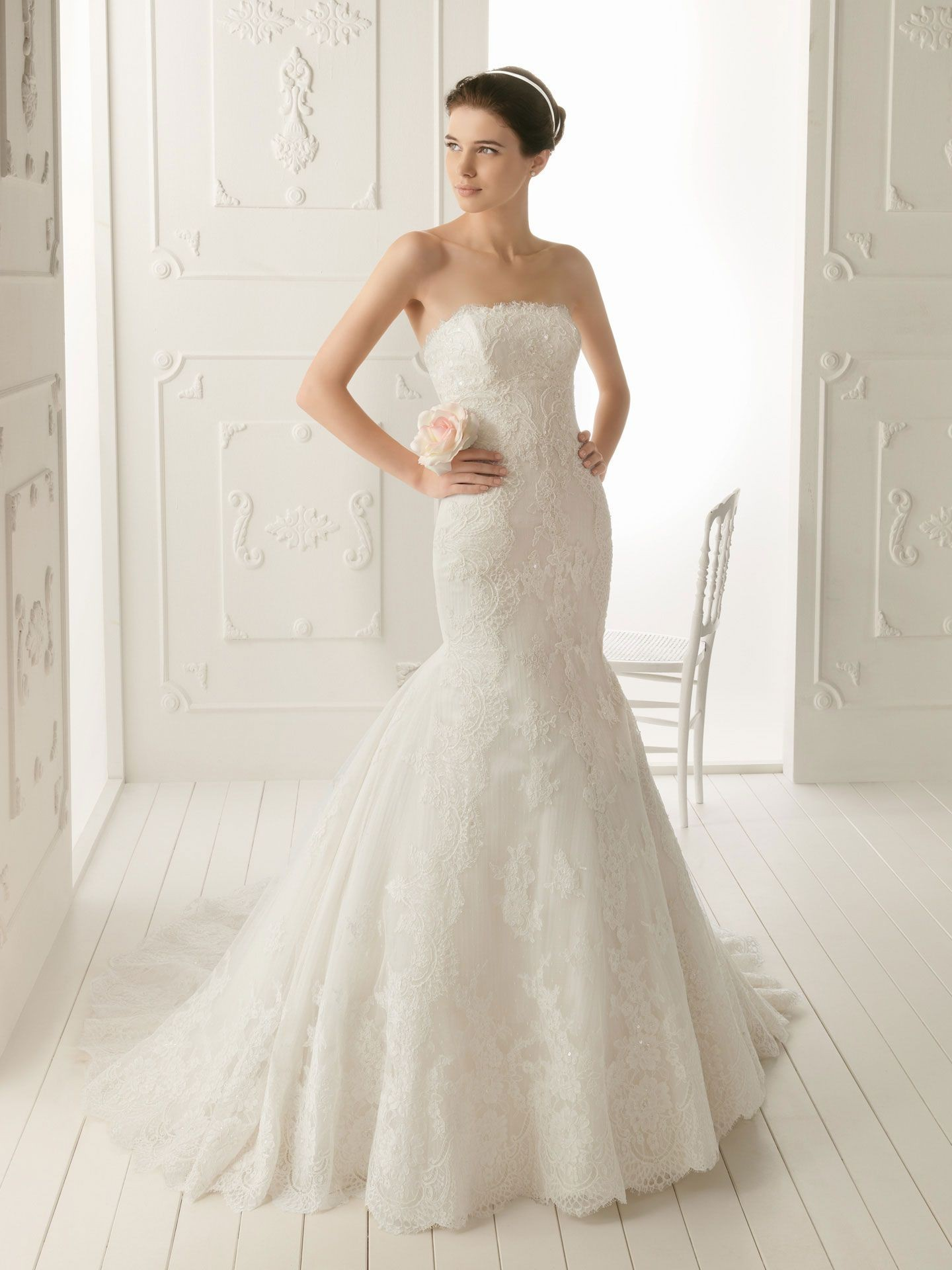 mermaid wedding dresses wedding dresses mermaid style Strapless Mermaid Wedding Dress