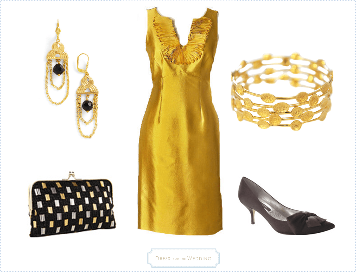 yellow gold dress for wedding gold dress for wedding Dresses For A November Wedding Guest Post Part 3 Dress The