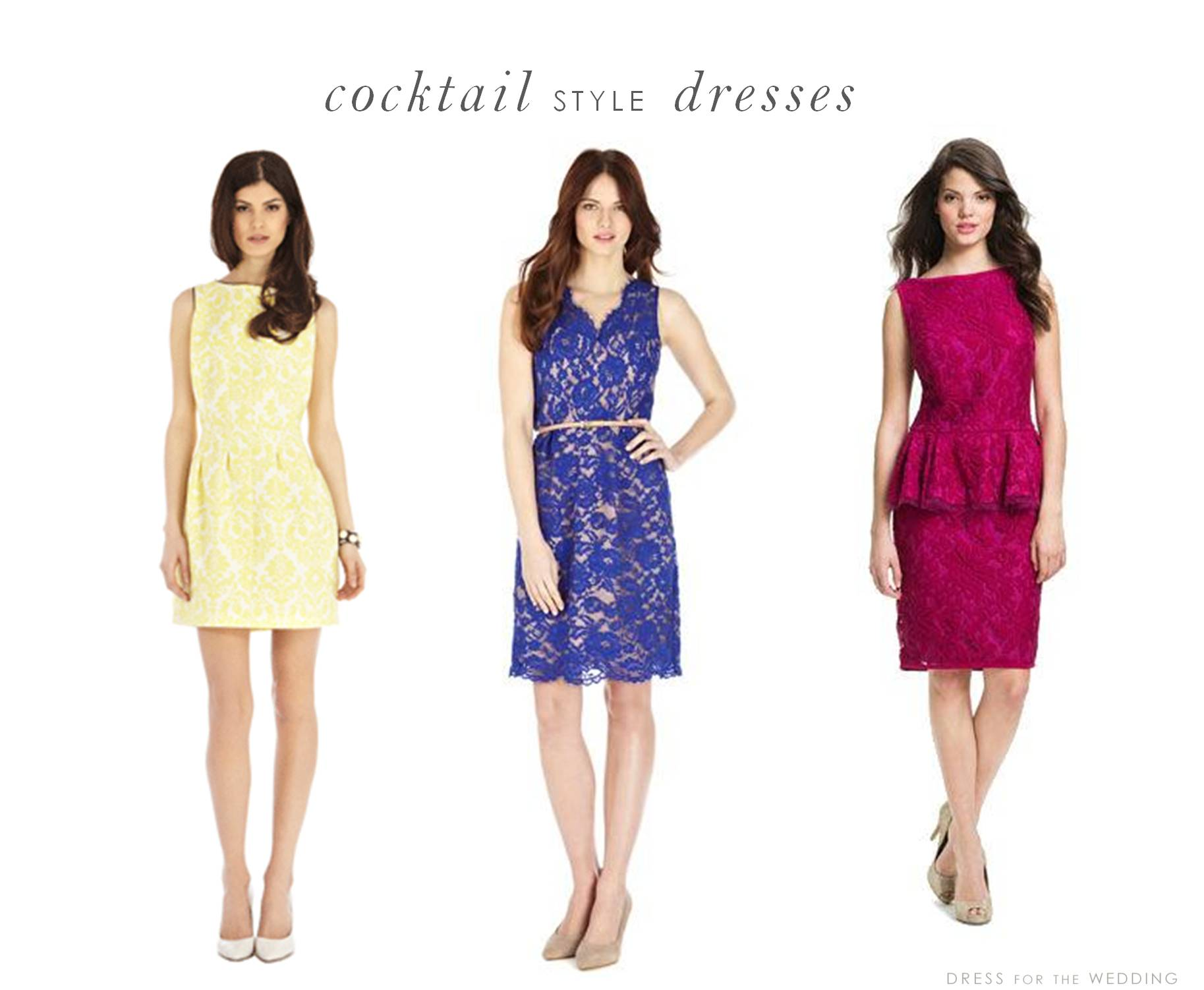 afternoon wedding cocktail dresses for wedding Dresses for Wedding Guests