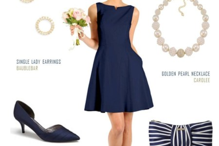 clic audrey hepburn style dress for bridesmaids 700x834