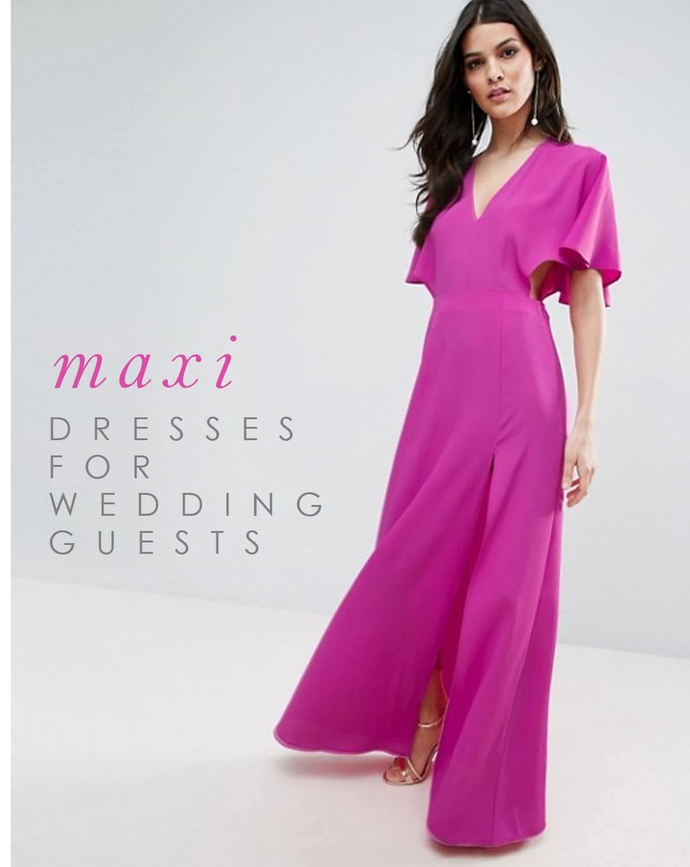 maxi dresses for weddings dresses for wedding guests Maxi Dresses for Wedding Guests