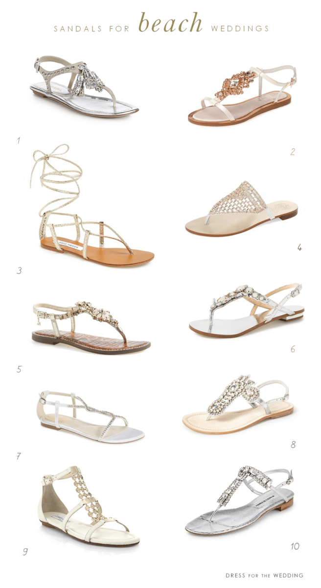 sandals for beach weddings wedding sandals